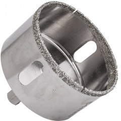 DIAMOND CORE BIT 64MM FOR TILES HEX SHANK