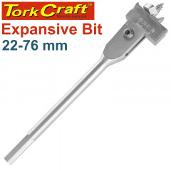 EXPANSIVE BIT 22-76MM FOR WOOD