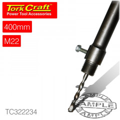 ADAPTOR SDS MAX 400MM X M22 FOR TCT CORE BITS