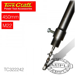 ADAPTOR HEX 450MMXM22 FOR TCT CORE BITS