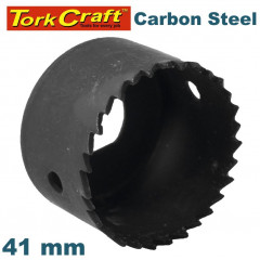 HOLE SAW CARBON STEEL 41MM