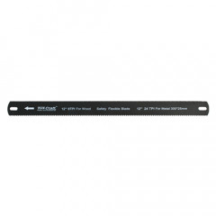 HACKSAW BLADE FLEXIBLE DOUBLE EDGE 300MM X 25MM CARBON STEEL TCHS001