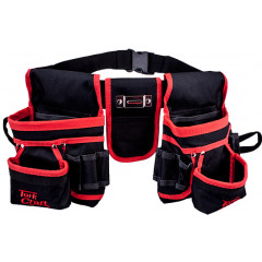 TOOL POUCH NYLON WITH BELT 22 POCKET + LOOPS