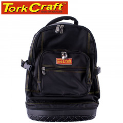 TOOL BACKPACK BLACK WITH RUBBER BASE 65 X 20 X 40CM TORK CRAFT
