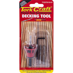 DECKING TOOL 10G STD HEAD PRE-DRILL & COUNTERSINK