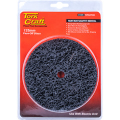 FACE OFF DISC 125MM CARDED FOR DRILL