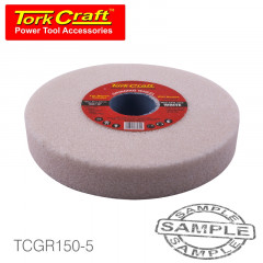 GRINDING WHEEL 150X25X32MM WHITE COARSE 36GR W/BUSHES FOR BENCH GRINDE