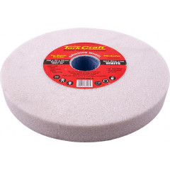 GRINDING WHEEL 200X25X32MM WHITE COARSE 36GR W/BUSHES FOR BENCH GRIN