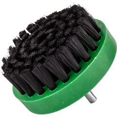 NYLON CUP BRUSH BLACK 0.2 X 80 X 6MM