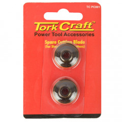 SPARE BLADES FOR PIPE CUTTERS 2PC