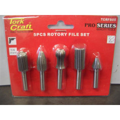 ROTARY FILE SET 5 PIECE
