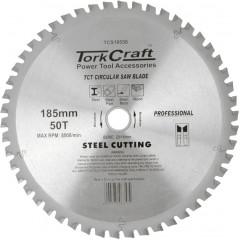 TCT BLADE STEEL CUTTING 185X50T 20/16