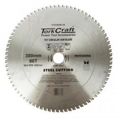 TCT BLADE STEEL CUTTING. 300 X 80T 30MM BORE