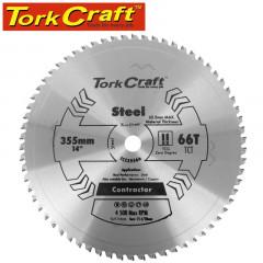 TCT BLADE STEEL CUTTING 355X66T 30MM