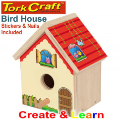 CREATE AND LEARN WOODEN BIRDHOUSE