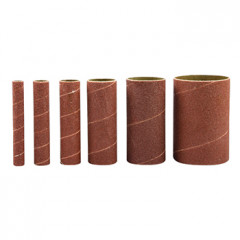 6PC SANDING SLEEVES 100GRIT FOR SPINDLE SANDER
