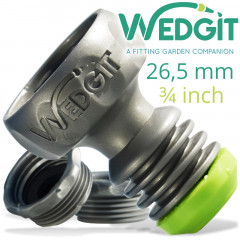 WEDGIT TAP CONNECTOR 26.5MM 3/4' C/W 2 X ADAPTORS