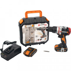 HAMMER DRILL 20V 60 NM B/LESS SLAMMER JCR WORX