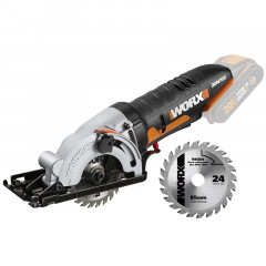 WORXSAW CIRC. SAW 20V 85MM 2400RPM 1 BLADE VERS. TOOL ONLY WORX